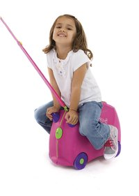 Trunki valise rigide TrunkiRide-on Trixie rose-Image 2