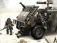 Mega Bloks Call of Duty Véhicule blindé et soldats-Image 1