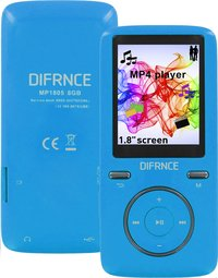 Difrnce mp4-speler MP1805 8 GB blauw-Artikeldetail