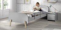 Vipack barrière de sécurité grise pour lit kiddy-Image 2