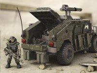 Mega Bloks Call of Duty Véhicule blindé et soldats-Image 2