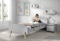 Vipack barrière de sécurité grise pour lit kiddy-Image 3