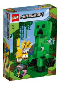 LEGO Minecraft 21156 Bigfigurine Creeper et ocelot-Côté gauche