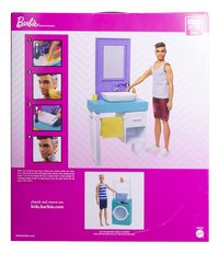 Barbie speelset Ken met wastafel-Achteraanzicht