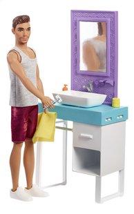 Barbie speelset Ken met wastafel-commercieel beeld