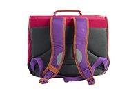 Tann's boekentas Classic violet/roze 38 cm-Achteraanzicht