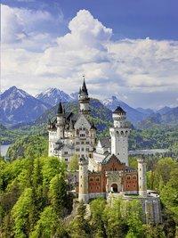 Ravensburger puzzel Neuschwanstein-Vooraanzicht