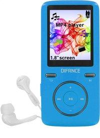 Difrnce mp4-speler MP1805 8 GB blauw-commercieel beeld