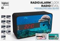 bigben wekkerradio RR16 Animals-Vooraanzicht