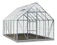 ACD Serre Intro Grow Oliver 9.9 m² aluminium-Vooraanzicht