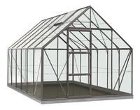 ACD Serre Intro Grow Oliver 9.9 m² antraciet-Vooraanzicht