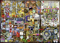 Ravensburger puzzel Colin Thompson The Inventor's Cupboard-Vooraanzicht