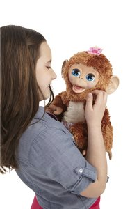 FurReal Friends peluche interactive Cuddles My Giggly Monkey-Image 1