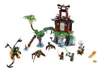 LEGO Ninjago 70604 L'île de la Veuve du Tigre-Avant