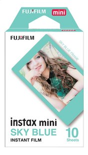 Fujifilm pack de 10 photos pour instax mini Sky Blue