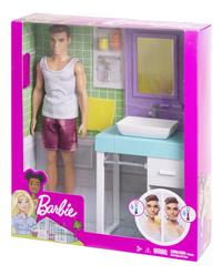 Barbie speelset Ken met wastafel-Rechterzijde