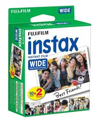 Fujifilm pack de 2 x 10 photos pour instax wide