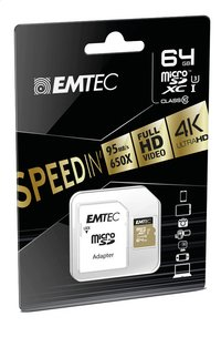 Emtec geheugenkaart microSDHC Class 10 64 GB goud