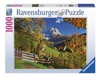 Ravensburger puzzel Monte Pelmo Venetië Italië-Vooraanzicht