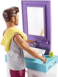 Barbie speelset Ken met wastafel-Artikeldetail