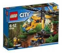 LEGO City 60158 L'hélicoptère cargo de la jungle