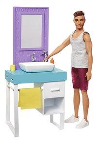 Barbie speelset Ken met wastafel-Vooraanzicht