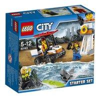 LEGO City 60163 Ensemble de démarrage des gardes-côtes