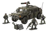 Mega Bloks Call of Duty Véhicule blindé et soldats-commercieel beeld