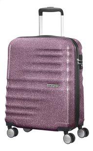 American Tourister valise rigide Wavebreaker Spinner Lilac Sparkle 55 cm-Côté droit