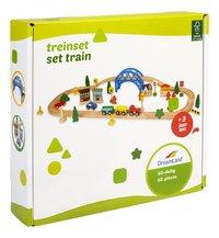 DreamLand Train en bois 60 pièces-Côté gauche
