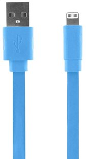 bigben kabel iPhone/iPod/iPad 1m blauw