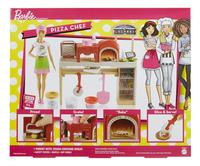 Barbie speelset Pizza Chef-Achteraanzicht