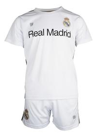 Tenue de football Real Madrid blanc/or-Avant