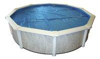 Interline bâche d'été ovale pour Diana 7,30 x 3,60 m