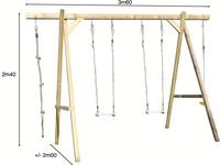 BnB Wood portique en bois Tilff-Détail de l'article