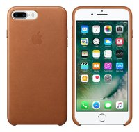 Apple coque en cuir pour iPhone 7 Plus brun