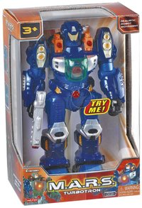 Robot M.A.R.S. Turbotron blauw-Vooraanzicht