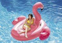 Intex matelas gonflable pour 2 personnes Mega Flamant rose-Image 2