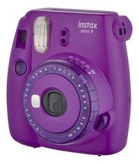 Fujifilm appareil photo instax mini 9 Clear Purple-Côté droit