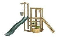 Plum houten speelhuisje Discovery Woodland-Vooraanzicht