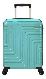 American Tourister trolley Mighty Maze turkoois 55 cm-Vooraanzicht