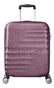 American Tourister valise rigide Wavebreaker Spinner Lilac Sparkle 55 cm-Avant
