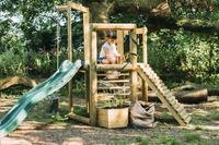 Plum houten speelhuisje Discovery Woodland-Afbeelding 4
