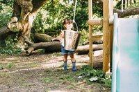 Plum houten speelhuisje Discovery Woodland-Afbeelding 7