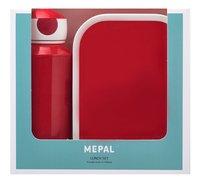 Mepal brooddoos en drinkfles Campus Red-Vooraanzicht