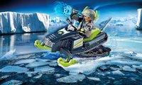 PLAYMOBIL Top Agents 70235 Artic Rebels Sneeuwscooter-Afbeelding 1