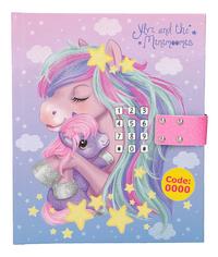 Dagboek Ylvi & the Minimoomis roze-Vooraanzicht