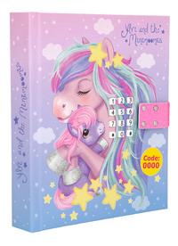 Dagboek Ylvi & the Minimoomis roze-Linkerzijde