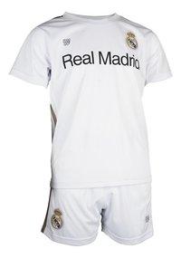 Tenue de football Real Madrid blanc/or-Côté gauche