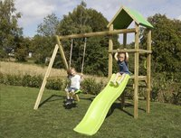 BnB Wood schommel Little Eden met lime glijbaan-Afbeelding 3